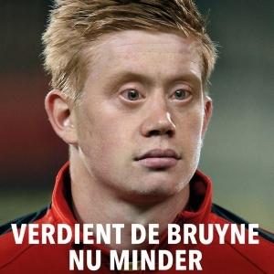 Kevin De Bruyne Special Olympics-ambassadeur - Qmusic